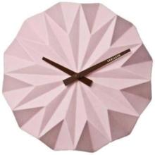 Ceramic Pink Wall clock