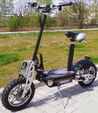 Elektrisk sparkesykkel - Scooter 1000W, 36V