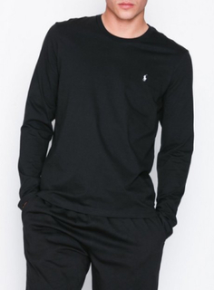 Polo Ralph Lauren L/S Crew Top Nattøy Black