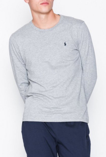 Polo Ralph Lauren L/S Crew Top Nattøy Grey