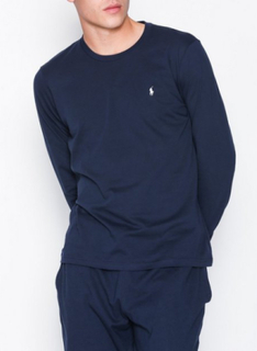 Polo Ralph Lauren L/S Crew Top Nattøy Navy