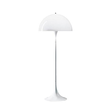 Louis Poulsen - Panthella Gulvlampe, Hvid opal/akryl