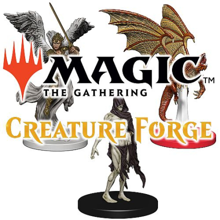 Magic Creature Forge Gravity Feed Box Overwhelming Swarm - 24 figurer