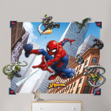 Spider-Man Spindelmannen 3D Pop Out Väggdekor Wall Decoration Sticker