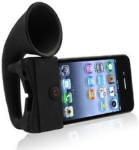 Horn forsterker til iPhone 5 - sort
