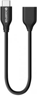 Champion USB 3.1 C - USB A Female 0,15m