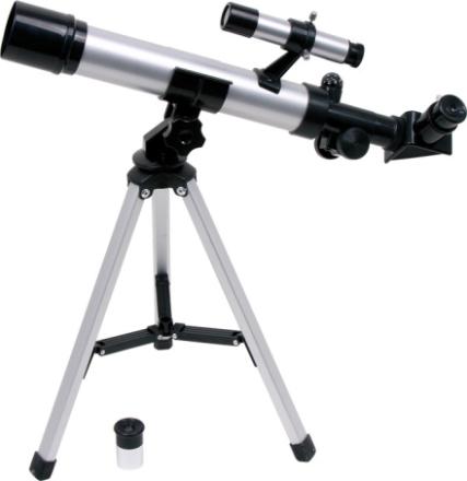 Teleskop med 2 linser