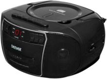 Boombox med FM/CD/KASSETT