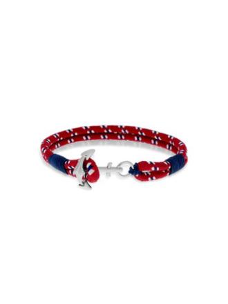 GD Maritim armbånd rød/blå