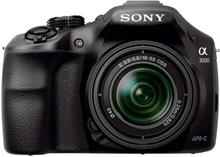 Sony Alpha 3000 Kit svart + SEL 18-55