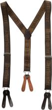 Deerhunter Logo Braces For Buttons 130 cm accessoirer Brun OneSize