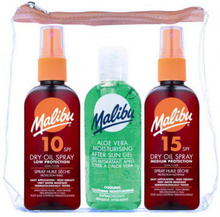Malibu Travel Sun Set Dry Oil & After Sun Gel 3 x 100 ml