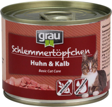 Grau Grydeguf Kornfrit 6 x 200 g - Kalkun, laks & makrel