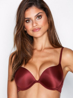NLY Lingerie Double Up Seductive Bra Push-ups & balconette-BH'er Rød