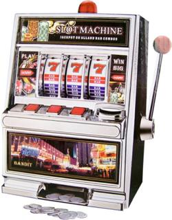 Slot machine / Las Vegas enarmet banditt - 30cm