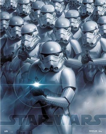 STAR WARS miniplakat Stormtroopers - ToysRUs.dk