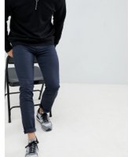 Emporio Armani - J[#0]} Marinblå jeans med ficka i stretch [#0]} - Marinblå