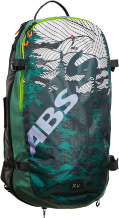 ABS s.LIGHT Compact Lavinerygsæk 15l grøn 2018 Lavinerygsække