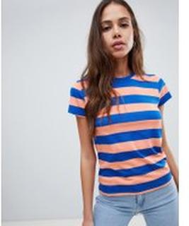 Levis Line 8 - Randig t-shirt - Desert flower