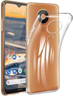 Nokia 5.3 Skal Ultra-slim Genomskinligt Skal Transparent