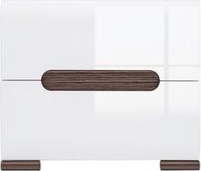 Lunden sängbord - Vit
