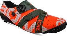 Bont Riot+ Road Shoes - EU 42 - Red/Green
