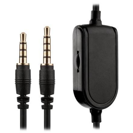 2m erstatning Astro Gaming Headset Mobile Aux kabel Mute-knappen og...