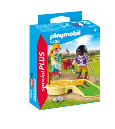 PLAYMOBIL 9439 børn med minigolf - ToysRUs.dk