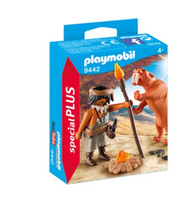 PLAYMOBIL 9442 hulemand med sabelkat - ToysRUs.dk