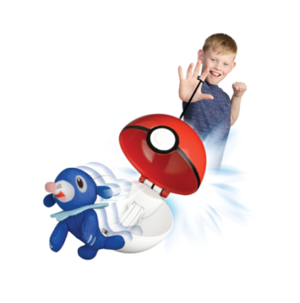 'Pokémon Toss''N''Pop sæt, Popplio' - ToysRUs.dk
