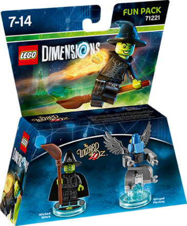 LEGO Dimensions 71221 Fun Pack ond heks - ToysRUs.dk