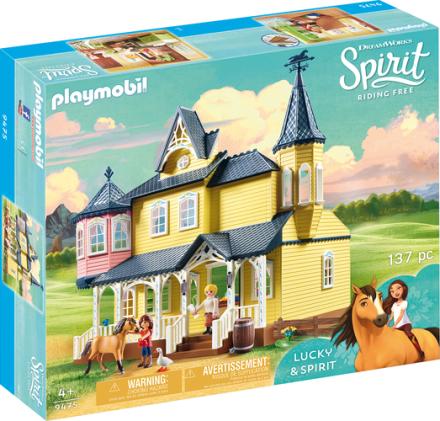 Playmobil 9475 Luckys glade hjem - ToysRUs.dk