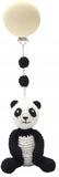 Vagnhänge Panda Virkad Oeko-tex