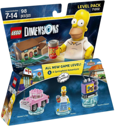 LEGO Dimensions 71202 Level Pack THE SIMPSONS - ToysRUs.dk