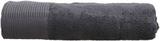 Handduk, Mörkgrå, 90x150 cm