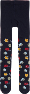 NAME IT Baby Cotton Monster Tights Men Blue