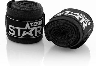 Star Gear Hand Wraps, Black, 2,5 m