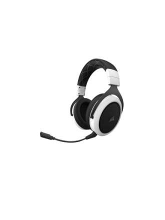 HS70 Wireless Gaming Headset - White - Bia?y