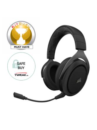 HS70 Wireless Gaming Headset - Carbon - Czarny