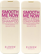 Eleven Australia Smooth Me Now Anti Frizz Shampoo 300ml + Conditioner 300ml
