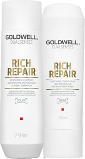Goldwell Dualsenses Rich Repair Restoring Schampo 250ml + Balsam 200ml Duo