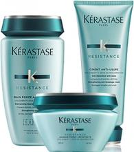 Kérastase Resistance Architecte Trio Shampoo + Ciment Anti-Usure + Masque