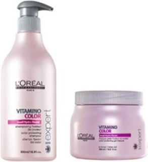 Loreal Vitamino Color Schampo 500ml + Inpackning 500ml