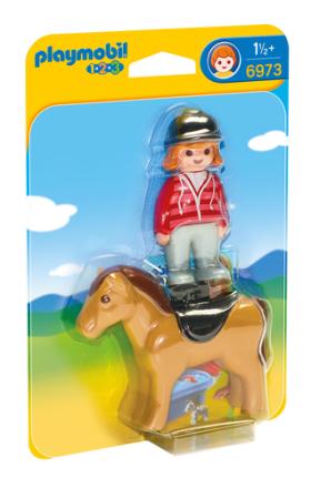 PMB 6973 Rytter med hest - ToysRUs.dk