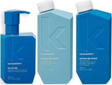 Kevin Murphy Repair Me Wash 250ml + Rinse 250ml + Re Store 200ml