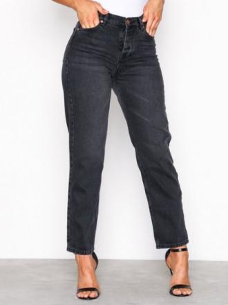 Sweet Sktbs Sweet Yard Used Black Jeans Svart