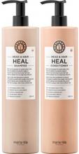 Maria Nila Head & Hair Heal Shampoo + Balsam Duo 2x1000ml
