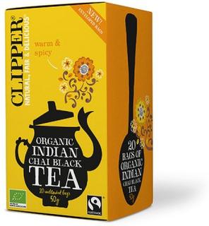 Clipper Indian Chai Tea Øko 20 breve