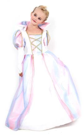 Sagoprinsessa i sagolik klänning - Utklädnad för barn 140 - 152 cm (10 - 12 år)