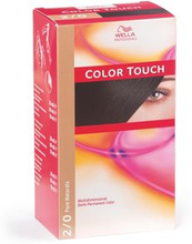 Wella Color Touch 2/0 Svart